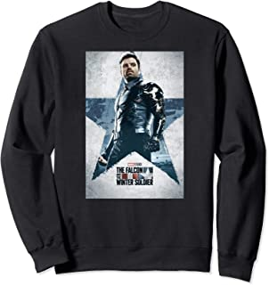 Marvel The Falcon and The Winter Soldier Bucky Barnes Poster Sweatshirt