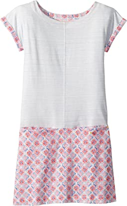 Short Sleeve Jersey Dress (Toddler/Little Kids/Big Kids)