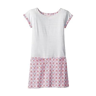 Joules Kids Short Sleeve Jersey Dress (Toddler/Little Kids/Big Kids) (Cream Summer Mosaic) Girl
