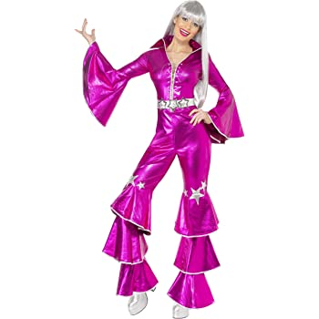 NET TOYS Disfraz para Mujer años 70 Mono Setenta Baile Disco Queen ...