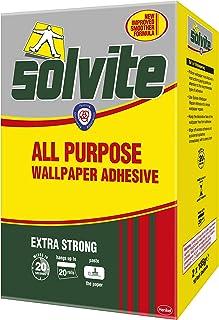 comprar comparacion Solvite - Adhesivo para papel pintado (capacidad para 20 rollos)