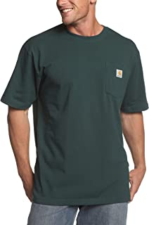 Carhartt Men's K87 Workwear Short Sleeve T-Shirt (Regular and Big & Tall Sizes)