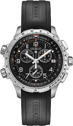 Hamilton - Khaki X-Wind GMT - H77912335