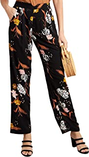 Floral Printed Relaxed Fit Pants For Women