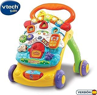 comprar comparacion VTech - Correpasillos Andandín 2 en 1, Diseño Mejorado, Andador Bebé InTeractivo Plegable y Regulador de Velocidad, Multic...