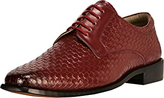 Liberty Derby Dress Shoes Men's Formal Non Leather Classic Tread Design Lace Up Shoes