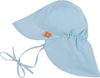 Lassig Sun Protection Flap Hat, Light Blue, Newborn 0-6 Months