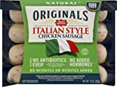 Dietz & Watson Originals No Antibiotics Ever Italian Style Chicken Sausage, 10 oz