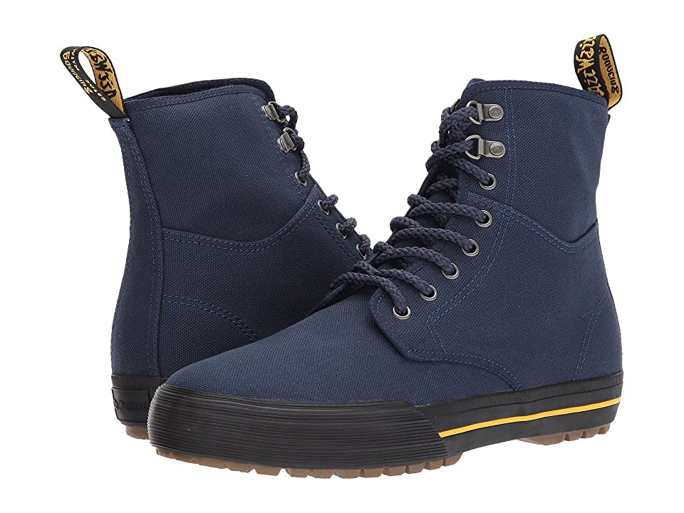 Dr. Martens Winsted D-Ring Boot (Navy 14oz. Canvas) Men