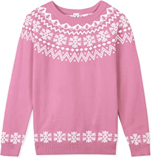 Girls' Pullover Sweater for Girls Christmas Day Cloth...