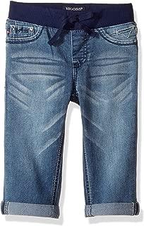 Girls' Knit Waist Crop Short