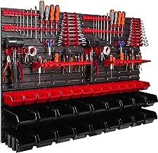 Opbergsysteem wandrek 1152 x 780 mm, gereedschapshouders, stapelboxen opbergkasten, extra sterke wandplaten, rek uitbreidb...