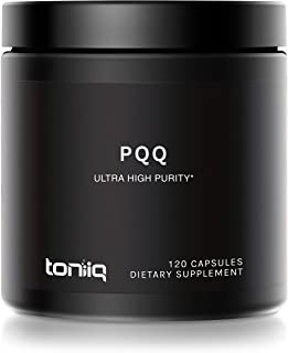 Sponsored Ad - Ultra High Purity PQQ Capsules - 99.8%+ Pharmaceutical Grade for Increased Bioavailability - 120 Capsules -...