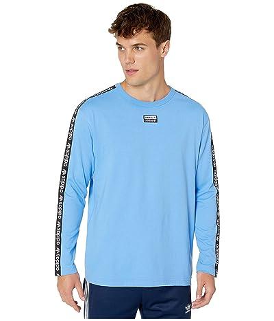 adidas Originals Vocal Logo Long Sleeve Tee (Real Blue) Men