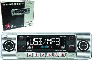 Caliber rcd120//b 1-din retro CD//USB//SD radio para automóviles Oldtimer-negro