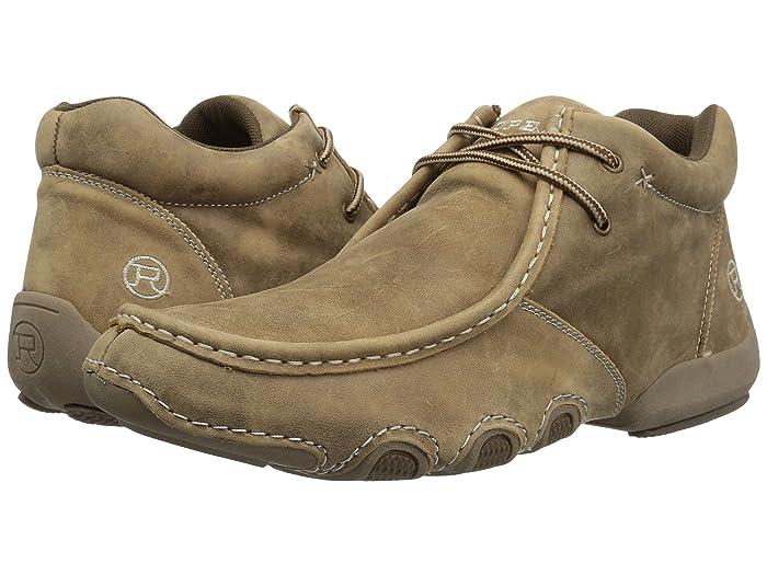 Roper  High Cruiser (Light Beige Leather) Mens Boots