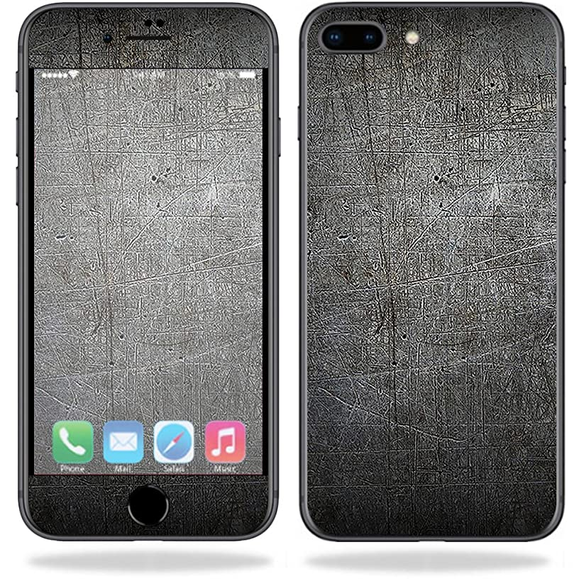 MightySkins Skin Compatible with Apple iPhone 8 Plus - Scratched Up | Protective, Durable, and Unique Vinyl Decal wrap Cover | Easy to Apply, Remove, and Change Styles | Made in The USA