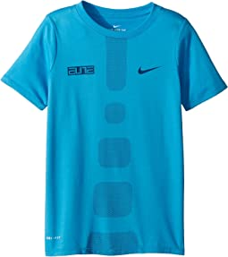 Nike Kids Dry Elite Basketball Tee (Little Kids/Big Kids)