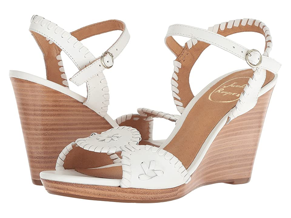 Jack Rogers Clare (White/White) Women
