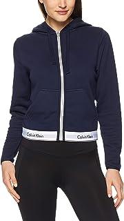 Calvin Klein Women's Modern Cotton Loungewear Full Zip Hoodie