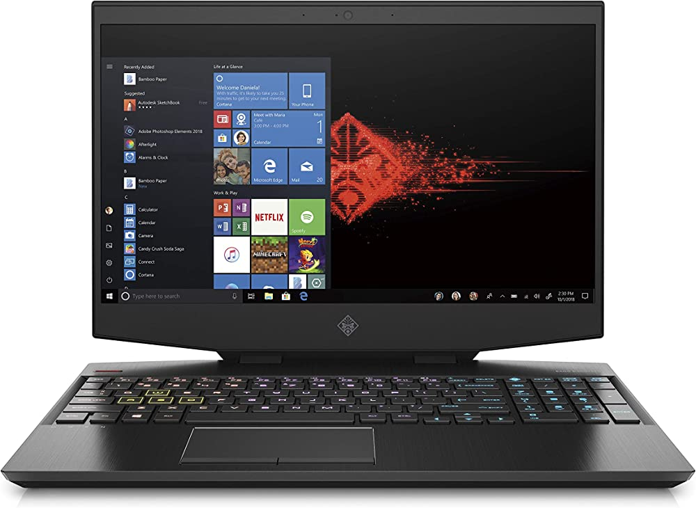Hp - gaming omen pc portatile notebook intel core i7 ram 16 gb ssd 1 tb nvidia geforce rtx 2060 6 gb 15-dh1000sl