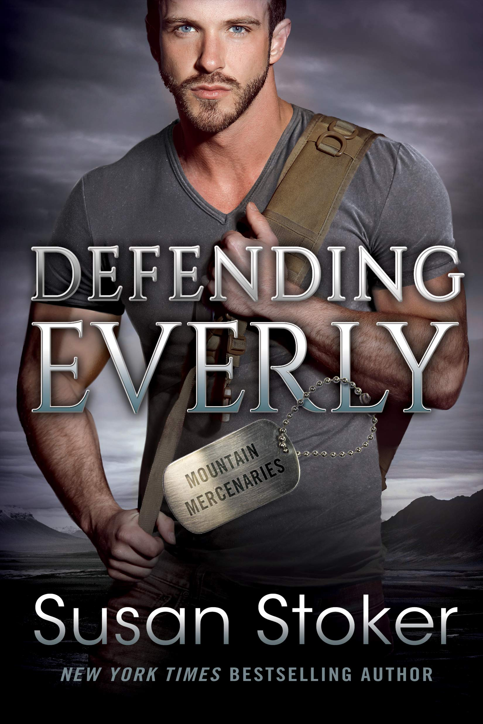 Defending Everly (Mountain Mercenaries Book 5)