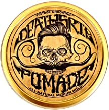 Pomade For Men's Grooming Styling Hair & Beard with Beeswax | Medium Hold & Shine | Like Gel Mousse Cream Or Grease | 4 Ou...