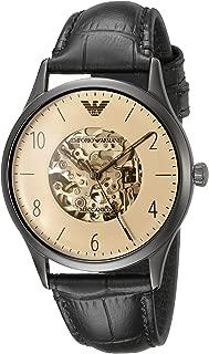 Men's AR1923 Dress Black Leather Watch