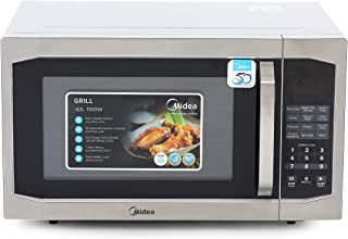 Midea Microwave EG142A5L 42L Grill Microwave Oven with Digital Controls Silver Color, 1 Year Warranty