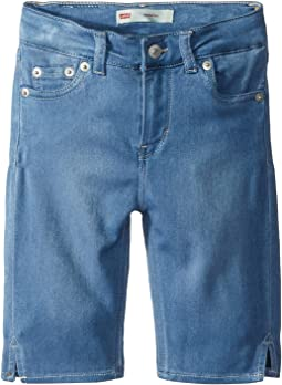 Levi's® Kids - 710™ Super Skinny Fit Soft and Silky Bermuda Shorts (Little Kids)