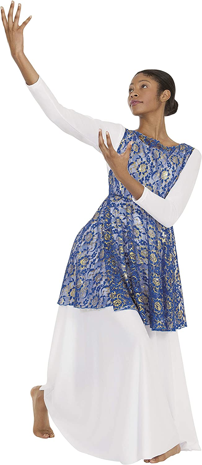 Eurotard 65568 Adult Heavenly Lace Tunic