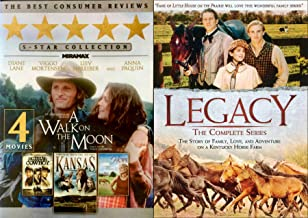 Four Stories of Love and Adventure Kansas / Walk on the Moon / Nothing Too Good for A Cowboy / Silk Hope & Legacy Horse Farm Complete Series DVD