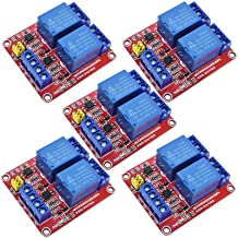 Sponsored Ad - ANMBEST 5PCS 2 Channel 5V Relay Module with Optocoupler High or Low Level Trigger Expansion Board for Raspb...