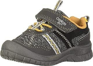 OshKosh B'Gosh Boys' GARCI Sneaker, Dark Grey, 9 M US Toddler