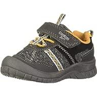 OshKosh B'Gosh Boys' GARCI Sneaker, Dark Grey, 11 M US Toddler