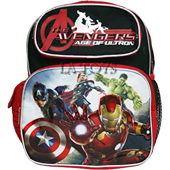 "BRAND NEW by Ruz for 3 years old Marvel Avengers Assemble 12/"" Toddler Backpack"