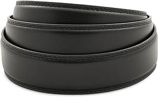 "Anson Belt & Buckle - Men's 1.25"" Full Grain Leather Ratchet Belt Strap (Strap Only)"