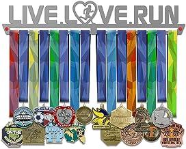 VICTORY HANGERS Live Love Run Medal Hanger Display Mannelijk