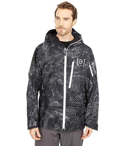Burton [AK] GORE-TEX(r) Cyclic Jacket (Black Mansfield Topo) Men