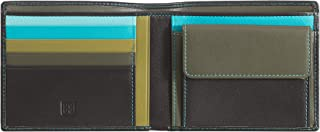 Mens Gents leather wallet multicolor with coin and credit card holders DUDU