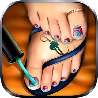 Pedicure Foot Nail Art Salon : pedicure game for girls !