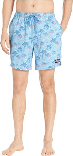 Beach Huts Chappy Swim Trunks