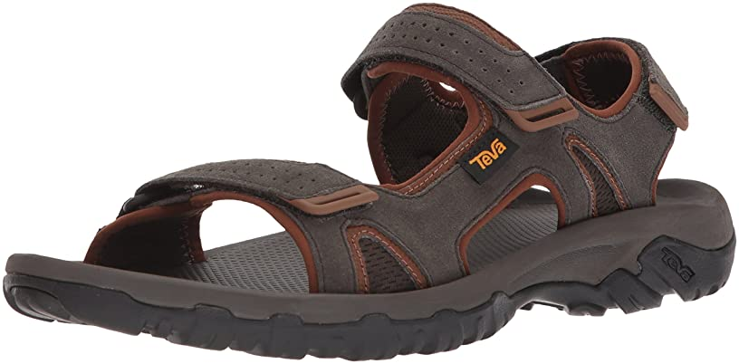 Teva Men's M Katavi 2 Sandal, Black Olive, 10 M US