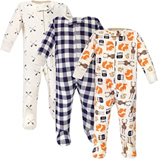 Hudson Baby Baby Girls' Zipper Sleep N Play