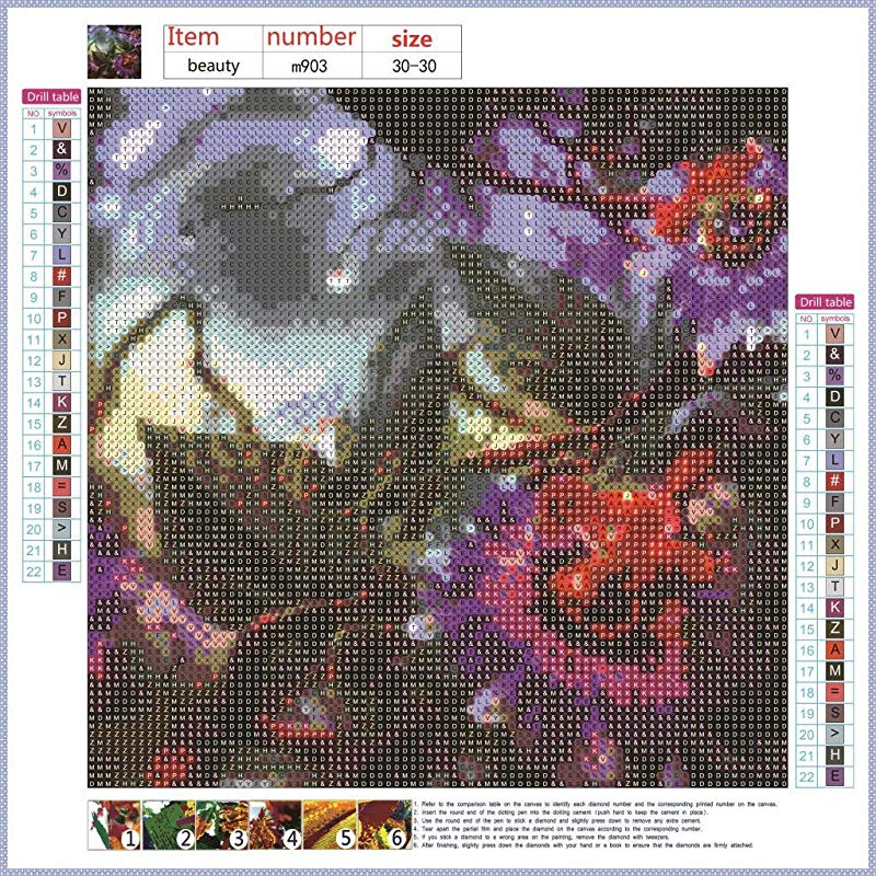 DIY 5D Embroidery Diamond Painting Kits Rhinestone Pictures Pasted Cross Stitch Arts Craft For Home Wall Room Office