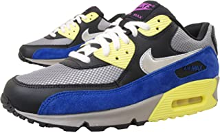 6b4f4d60169f NIKE Women s Air Max 90 - Medium Grey Metallic Silver Black Yellow