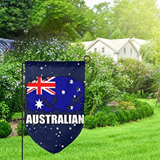 Australian Flag Football Rugby Garden Flag Funny Indoor Outdoor Flag Decorative Home Flag 12.5 X 18 Inches Fillet