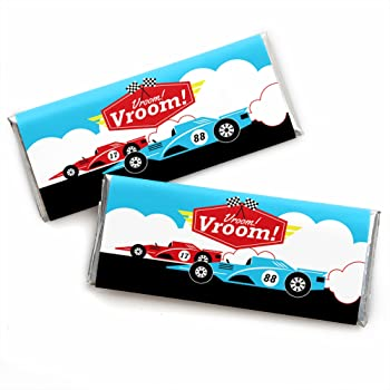 Racecar Race Car Birthday Party or Baby Shower Treat Candy Boxes Let/'s Go Racing Party Mini Favor Boxes Set of 12