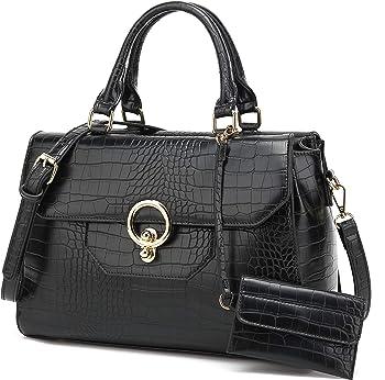 Macadamla Designer Pu Leather Tote Bag