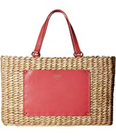 Frances Valentine - Woven Pocket Medium Tote